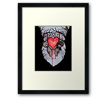 Til Death Framed Print