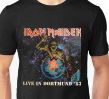 IRON MAIDEN - LIVE IN DORTMUND 1983 Unisex T-Shirt