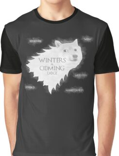 House Doge - Such Winter, Much Soon Graphic T-Shirt