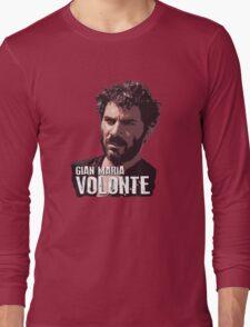 Gian Maria Volonte - El Indio Long Sleeve T-Shirt