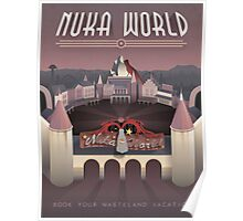 Art Deco Nuka-World - Fallout 4 Poster