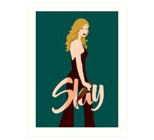 Slay Buffy Art Print