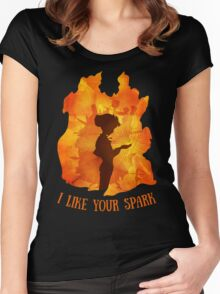The Spark Women's Fitted Scoop T-Shirt