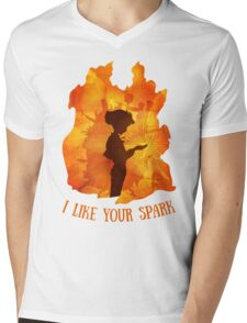 The Spark Mens V-Neck T-Shirt