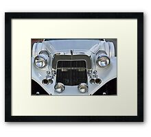 Limousine Excalibur MAXI Car Front Framed Print