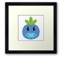Pokemon, Complacent Oddish Framed Print
