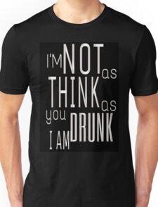 A Good Time Drunk Unisex T-Shirt