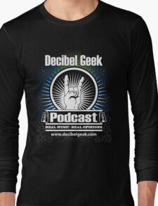Decibel Geek  - Horns Up! Long Sleeve T-Shirt