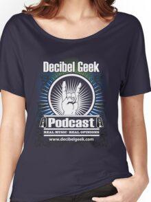 Decibel Geek  - Horns Up! Women's Relaxed Fit T-Shirt