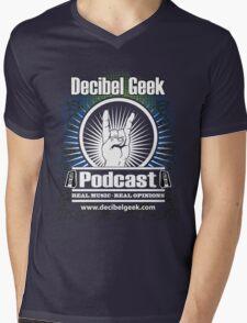 Decibel Geek  - Horns Up! Mens V-Neck T-Shirt