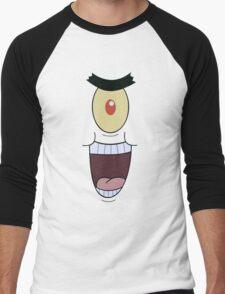 Plankton evil and funny laugh Men's Baseball ¾ T-Shirt