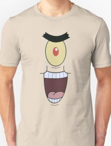 Plankton evil and funny laugh Unisex T-Shirt