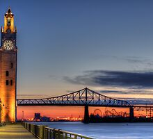 Montreal Clock Tower 3 by Michael Vesia
