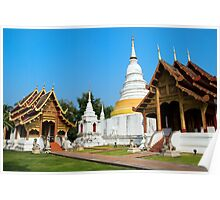 Temples in Chiang Mai Poster