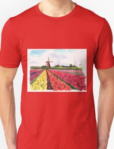 Holland flowers Unisex T-Shirt