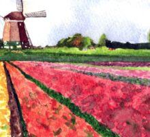 Holland flowers Sticker