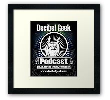 Decibel Geek  - Horns Up! Framed Print