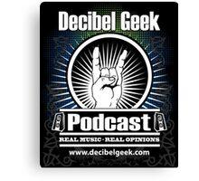 Decibel Geek  - Horns Up! Canvas Print