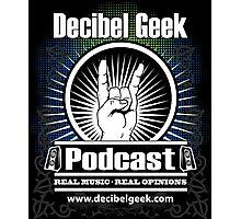 Decibel Geek  - Horns Up! Photographic Print