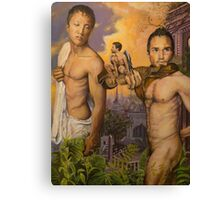 Allegory of the Cave III acrylic on canvas Canvas Print