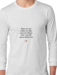 -A Long Sleeve T-Shirt