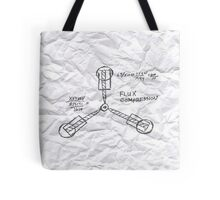 The Flux Capacitor Tote Bag