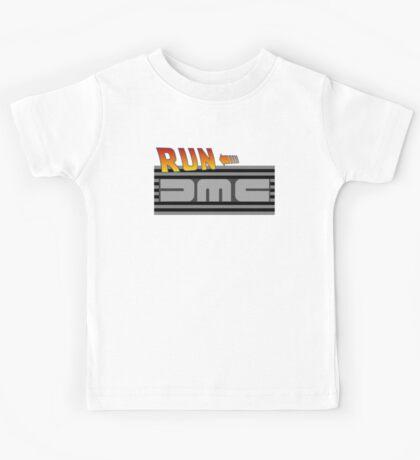 Run DMC (to the Future!) Kids Tee