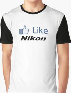 Like Nikon Graphic T-Shirt