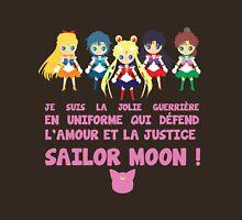 Sailor Moon - Je suis la jolie guerrière en uniforme Womens Fitted T-Shirt