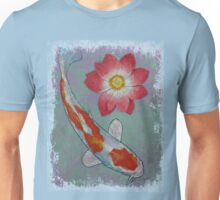 Koi and Lotus Unisex T-Shirt