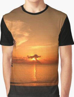 Evening Sunset Graphic T-Shirt