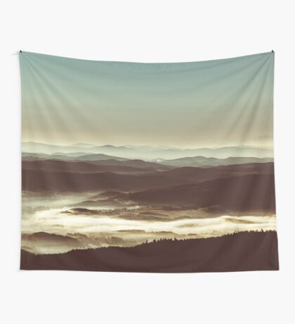 White sea Wall Tapestry