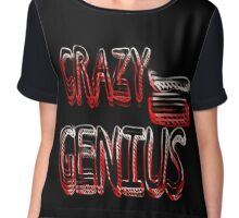 Crazy Genius Chiffon Top