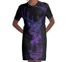 Transcendence Graphic T-Shirt Dress