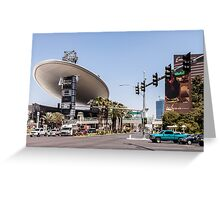 Las Vegas by Day Greeting Card
