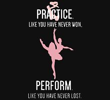 Practice like you have never won perform like you have never lost Women's Tank Top