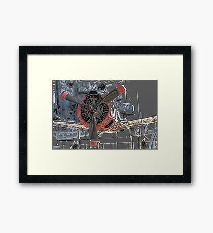 Battle Plane Framed Print