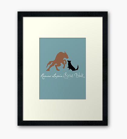 Remus & Sirius Framed Print