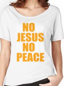 Know Jesus Know Peace Women's Relaxed Fit T-Shirt