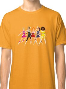 Girl-Power Rangers Classic T-Shirt