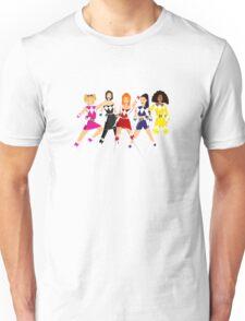 Girl-Power Rangers Unisex T-Shirt