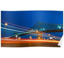 Jacques-Cartier Bridge Poster
