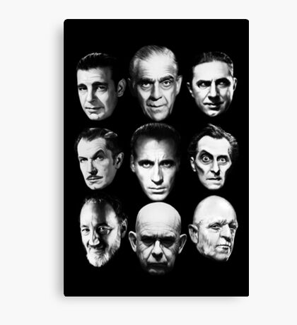 Masters of Horror Canvas Print