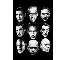 Masters of Horror Photographic Print