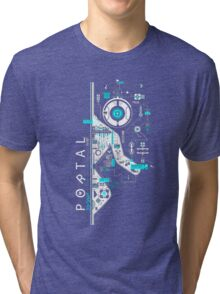 Portal Art Tri-blend T-Shirt