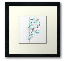 Portal Art Framed Print