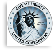 Give Me Liberty Canvas Print