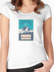 Friday Harbor.  Women's Fitted Scoop T-Shirt