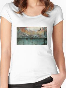 Rusty Studebaker Champ Pickup - Detail Women's Fitted Scoop T-Shirt