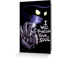 The Power of Evil Greeting Card